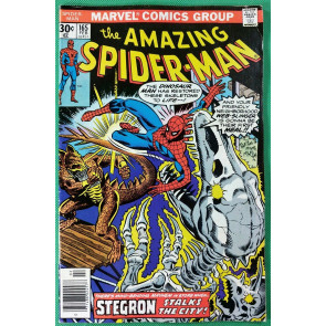 Amazing Spider-Man (1963) #165 FN+ (6.5)   vs Stegron