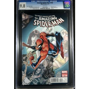 Amazing Spider-Man (1963) #700 CGC 9.8 white pages Ramos variant (1099720025)