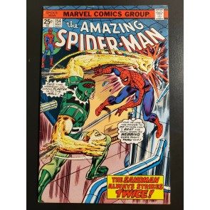 Amazing Spider-Man #154 (1977) F (6.0) Sandman cover/story|
