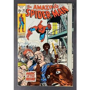 Amazing Spider-Man (1963) #99 VF- (7.5) Prison Gil Kane Cover  Art Johnny Carson