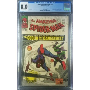AMAZING SPIDER-MAN 1965 #23 CGC 8.0 VF vs. Green Goblin 2095781006 |