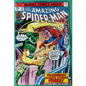 Amazing Spider-Man (1963) #154 FN+ (6.5)  vs Sandman