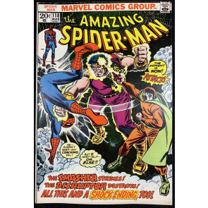 Amazing Spider-Man (1963) #118 VF+ (8.5) Mark Jewelers insert