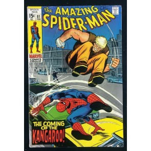 Amazing Spider-Man (1963) #81 FN+ (6.5) 1st appearance Kangaroo