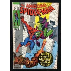Amazing Spider-Man (1963) #97 VF- (7.5) no comics code drug story part 2 of 3