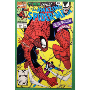 Amazing Spider-Man (1963) #345 NM (9.4) Venom app
