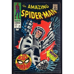 Amazing Spider-Man (1963) #58 FN+ (6.5) Spider-Slayer