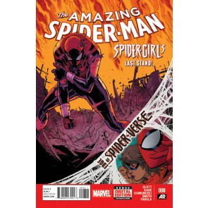 Amazing Spider-Man (2014) #8 VF/NM Camuncoli Cover Edge of Spider-Verse Tie-In