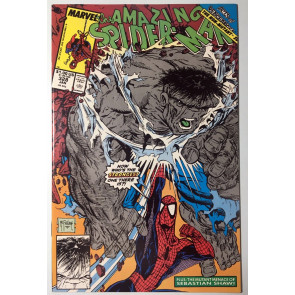 Amazing Spider-Man (1963) #328 NM- (9.2) classic McFarlane Hulk cover and art
