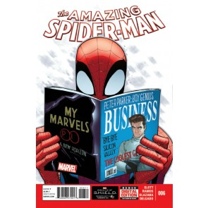Amazing Spider-Man (2014) #6 VF/NM Humberto Ramos Cover