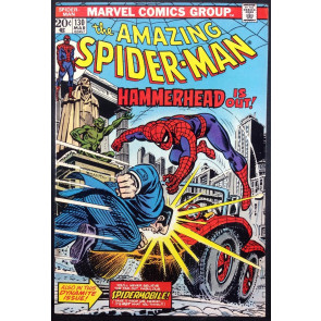 Amazing Spider-Man (1963) #130 VF- (7.5) vs Hammerhesd 1st Spidermobile