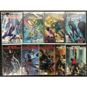 Amazing Spider-Man (2015) #16 17 18 19 Dead No More + Clone Conspiracy 9 comics