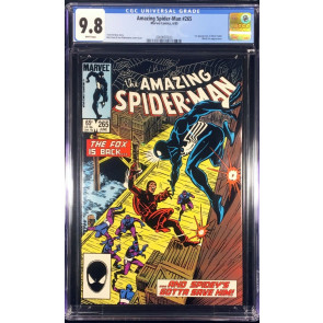 Amazing Spider-man (1963) #265 CGC 9.8 1st Appearance Silver Sable (2009097023)