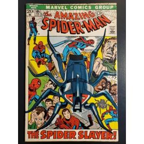 Amazing Spider-Man (1972) #105 VF (8.0) vs Spider Slayer|