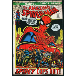 Amazing Spider-Man (1963) #112 FN+ (6.5) Mark Jewelers variant