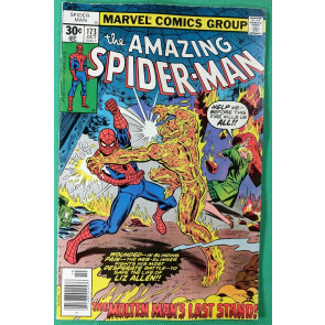 Amazing Spider-Man (1963) #173 FN (6.0)  vs Molten Man