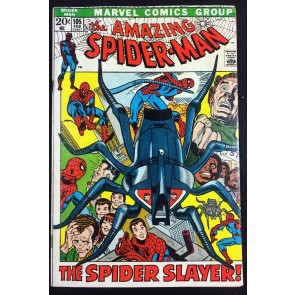 Amazing Spider-Man (1963) #105 VG/VF (5.0) versus Spider-Slayer