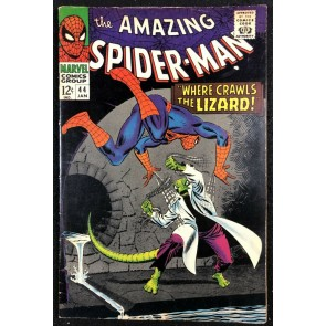 Amazing Spider-Man (1963) #44 FN (6.0) Lizard app & cover