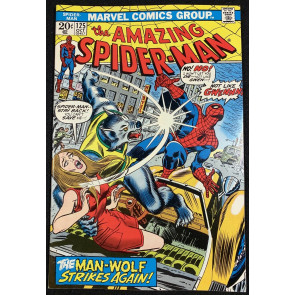 Amazing Spider-Man (1963) #125 VF+ (8.5) Origin Man-Wolf Mark Jewelers insert