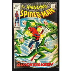 Amazing Spider-Man (1963) #71 FN (6.0) Quicksilver