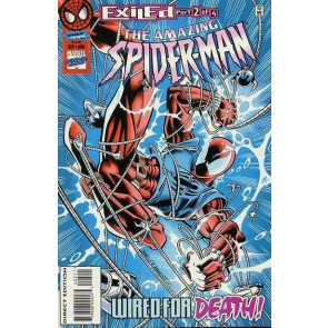 Amazing Spider-Man (1963) #405 VF/NM (9.0) Exiled pt.2 Scarlet Spider Clone Saga