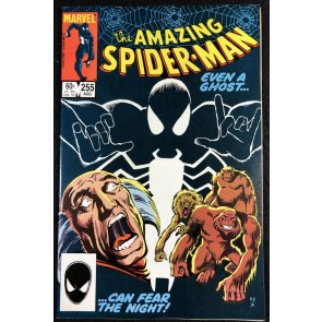 Amazing Spider-Man (1963) #255 VF+ (8.5) 1st app Black Fox Red Ghost Cover