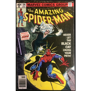 Amazing Spider-Man (1963) #194 VF+ (8.5) 1st appearance Black Cat Felicia Hardy