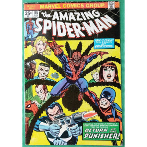 Amazing Spider-Man (1963) #135 VG (4.0) 2nd Full app Punisher