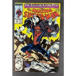 Amazing Spider-Man (1963) #322 NM (9.4) Silver Sable App Todd McFarlane Art