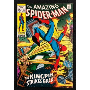 Amazing Spider-Man (1963) #84 FN/VF (7.0) Kingpin cover