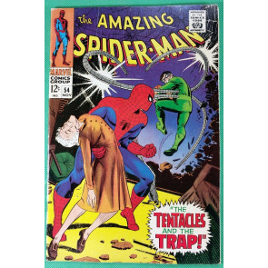 Amazing Spider-Man (1963) #54 FN- (5.5)  vs Doc Ock