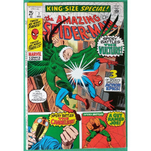 Amazing Spider-Man (1963) Annual #7 (1970) FN- (5.5) Vulture cover