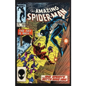 Amazing Spider-Man (1963) #265 VF/NM (9.0) 1st Appearance Silver Sable