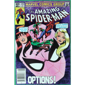 Amazing Spider-Man (1963) #243 VF+ (8.5)  Mary Jane & Gwen Stacy cover