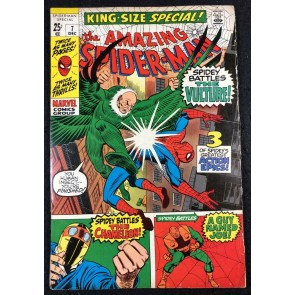 Amazing Spider-Man Annual (1970) #7 FN- (5.5) Vulture Cover