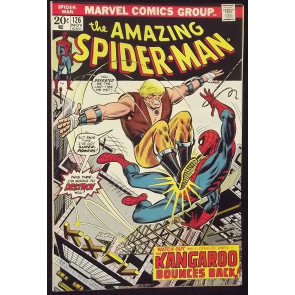 AMAZING SPIDER-MAN #126 VF/NM 1ST MENTION HARRY OSBORN AS GREEN GOBLIN