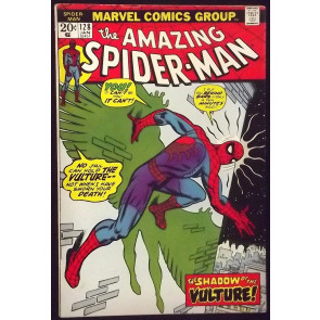 AMAZING SPIDER-MAN #128 FN/VF VULTURE