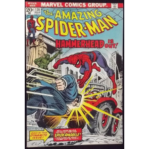 AMAZING SPIDER-MAN #130 NM- HAMMERHEAD