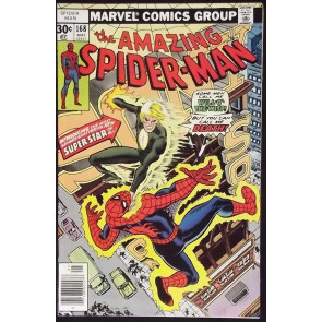 AMAZING SPIDER-MAN #168 VF+ WILL-O-THE-WISP