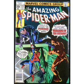 AMAZING SPIDER-MAN #175 VF+ PUNISHER APPEARANCE