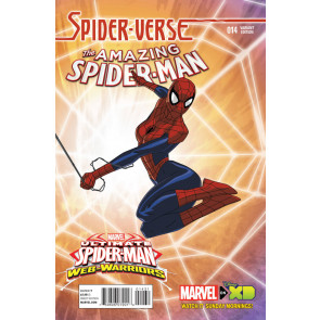 AMAZING SPIDER-MAN (2014) #14 VF/NM WEB-WARRIORS VARIANT COVER MARVEL NOW