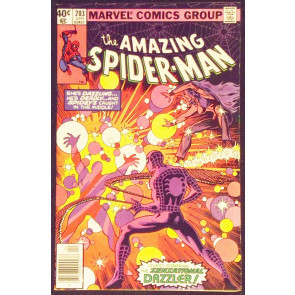 AMAZING SPIDER-MAN #203 VF- 3RD APPEARANCE DAZZLER