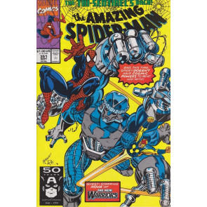 AMAZING SPIDER-MAN #351 VF/NM NOVA NEW WARRIORS MARK BAGLEY