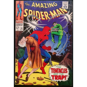 AMAZING SPIDER-MAN #54 VF DOC OCK COVER