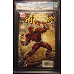 AMAZING SPIDER-MAN #579 CGC GRADED 9.8 SHOCKER VARIANT COVER WHITE PAGES
