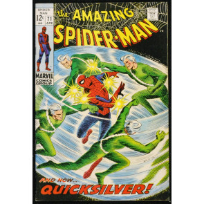 AMAZING SPIDER-MAN #71 FN/VF QUICKSILVER 1969