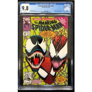 Amazing Spider-Man (1963) #363 CGC 9.8 White Pages 3rd app Carnage (3799588008)