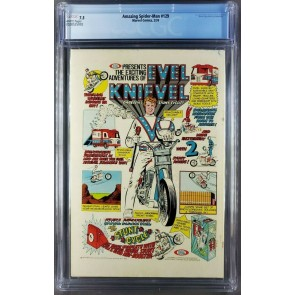 Amazing Spider-Man #129 (1974) CGC 7.5 VF- White 1st app Punisher and Jackal |