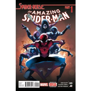 Amazing Spider-Man (2014) #9 VF/NM Olivier Coipel Regular Spider-Verse Part 1