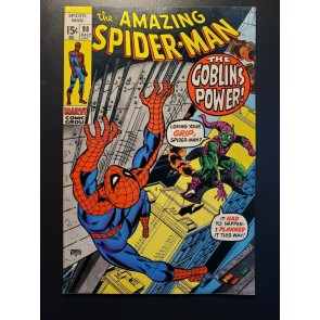 AMAZING SPIDER-MAN #98 1971 VF+ 8.5 DRUG ISSUE NON CODE-APPROVED GREEN GOBLIN|